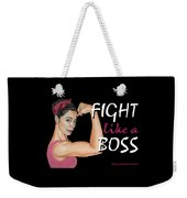 Fight Like A Boss Fundraiser Weekender Tote Bag