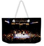 Fight Night Weekender Tote Bag by David Lee Thompson