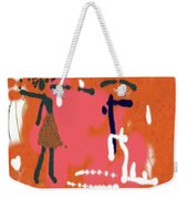 Fight Weekender Tote Bag