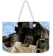 Fighter Jet Cockpit 01 Weekender Tote Bag