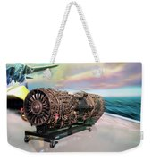 Fighter Jet Engine Weekender Tote Bag
