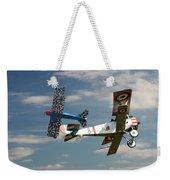 Fighting Colours 2 - Fokker D. Vll - Nieuport Weekender Tote Bag