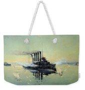 Fighting On July In The Yellow Sea Weekender Tote Bag by Konstantin Veshchilov