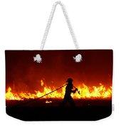 Fighting The Fire Weekender Tote Bag