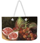 Figs And Grapes Weekender Tote Bag