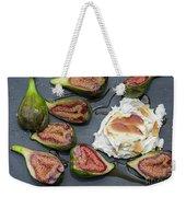 Figs Dessert With Mascarpone Weekender Tote Bag
