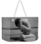 Figurative Holga Tryptich 5 Weekender Tote Bag by Catherine Sobredo