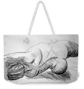 Figure Drawing 2 Weekender Tote Bag