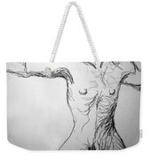 Figure Drawing 5 Weekender Tote Bag