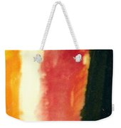 Figure In Orange And Black Weekender Tote Bag