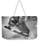 Figure Skating Abstract Weekender Tote Bag