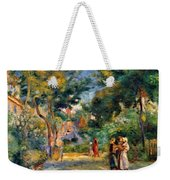 Figures In A Garden Weekender Tote Bag