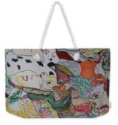 Figures In The Empty Space Weekender Tote Bag
