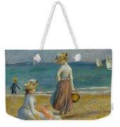 Figures On The Beach, 1890 Weekender Tote Bag