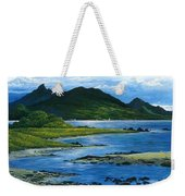 Fiji Rivermouth Robert Lyn Nelson Weekender Tote Bag