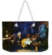 Fildes The Doctor 1891 Weekender Tote Bag