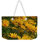 Filled With Sunflowers Horizontal Weekender Tote Bag