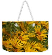 Filled With Sunflowers Vertical Weekender Tote Bag