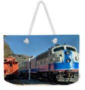 Fillmore And Western Railway Christmas Train 2 Weekender Tote Bag