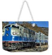 Fillmore And Western Railway Christmas Train 3 Weekender Tote Bag