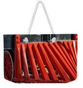 Fillmore And Western Railway Cow Catcher Weekender Tote Bag