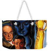 Film Noir Poster Three Strangers Weekender Tote Bag