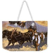 Film: The Covered Wagon Weekender Tote Bag