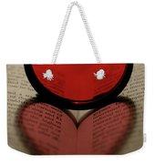 Filter Heart 2 Weekender Tote Bag