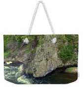Fin On The Firehole Weekender Tote Bag