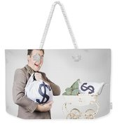 Finance And Money Growth Concept Weekender Tote Bag