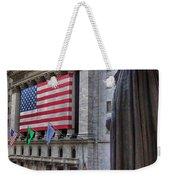 Financial District Weekender Tote Bag