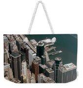Financial District Nyc Aerial Photo Weekender Tote Bag
