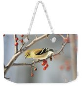 Finch Eyeing Seeds Weekender Tote Bag