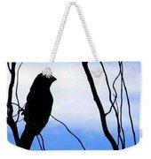 Finch Silhouette 1 Weekender Tote Bag