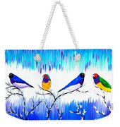 Finches Weekender Tote Bag