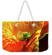 Find Your Happy Place Weekender Tote Bag