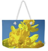 Fine Art Daffodils Floral Spring Flowers Art Prints Canvas Baslee Troutman Weekender Tote Bag