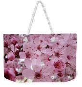 Fine Art Prints Spring Pink Blossoms Trees Canvas Baslee Troutman Weekender Tote Bag