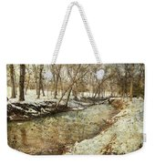 Fine Creek Winter Weekender Tote Bag