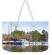Fine Day To Sail - Illustration Style  Weekender Tote Bag
