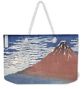 Fine Weather With South Wind Weekender Tote Bag by Hokusai