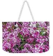 Fine Wine Cafe Apple Blossoms Weekender Tote Bag