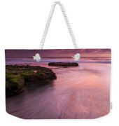 Fingers Of The Tide Weekender Tote Bag