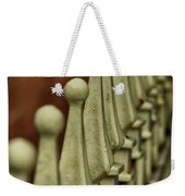 Finials All In A Row Weekender Tote Bag