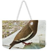 Finish Your Seeds And We'll Go Flying Weekender Tote Bag