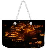 Fire Abstract  Weekender Tote Bag