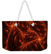 Fire Abstraction Weekender Tote Bag