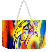 Fire And Gold Weekender Tote Bag