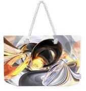 Fire And Ice Abstract Weekender Tote Bag