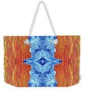 Fire And Ice - Digital 2 Weekender Tote Bag
